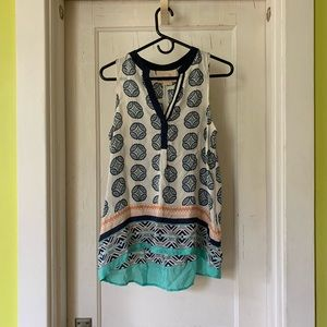 Silky Anthropologie tank top